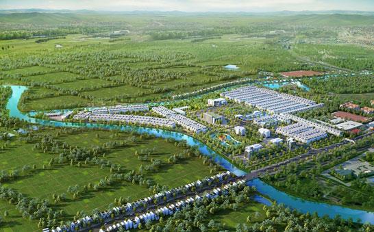 TNR Stars Nam Sách sẽ là điểm nhấn cảnh quan đô thị cho thành phố Hải Dương trong tương lai gần