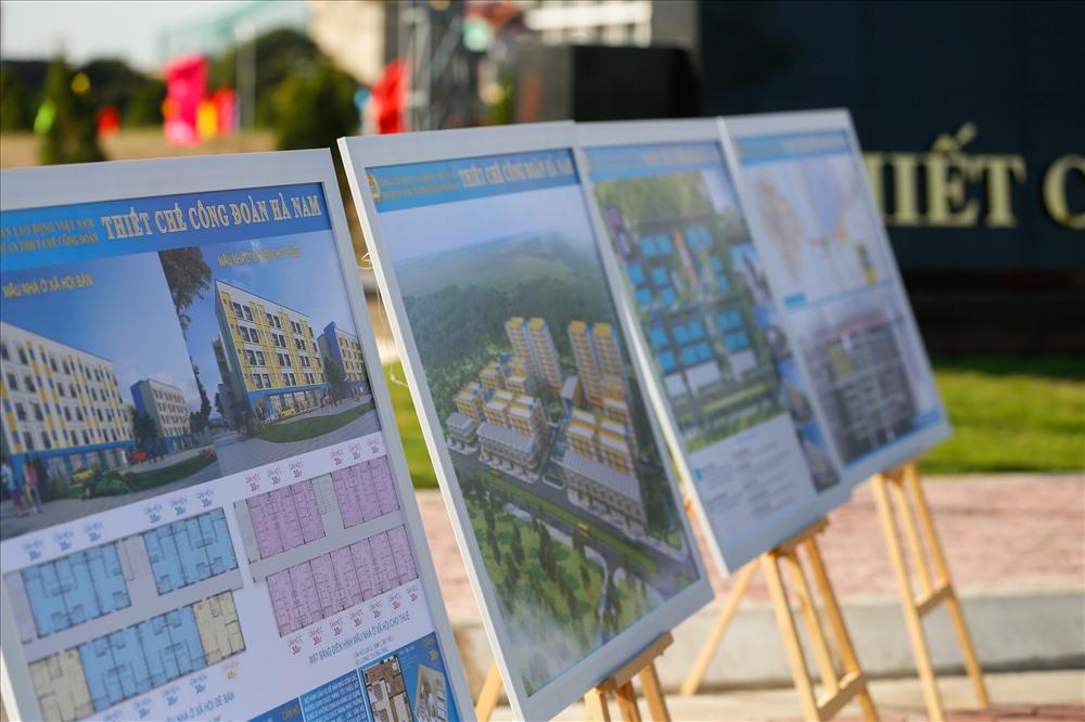 Tổng LĐLĐVN đầu tư 559 tỷ đồng để thực hiện dự án này. Các hạng mục công trình theo quy hoạch dự án gồm: Chung cư 5 tầng có 20 block, gồm 976 căn hộ.