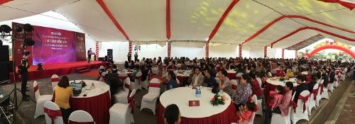 Toàn cảnh đại sự kiện công bố hoàn thiện và bàn giao hạ tầng tại TNR Stars Đồng Văn.