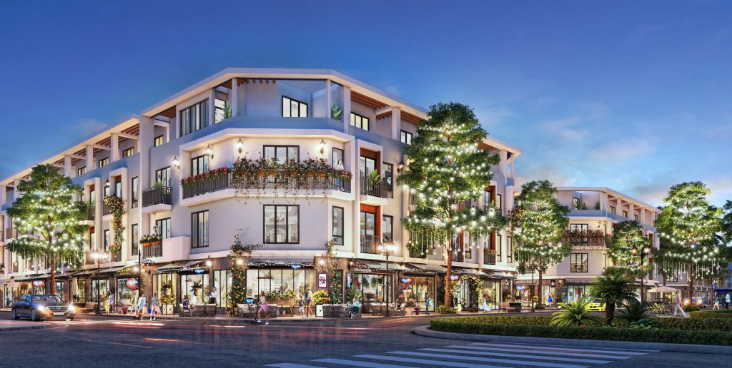 Shophouse trung tâm dự án