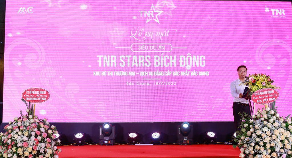 Ông Nguyễn Thanh Hải – Phó tổng giám đốc thường trực Công ty Cổ phần AAC Việt Nam phát biểu khai mạc chương trình