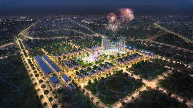 Phối cảnh dự án TNR Grand Palace Thái Bình – đại đô thị thông minh mặt tiền đường Võ Nguyễn Giáp và Quốc lộ 39B nối trực tiếp Quốc lộ 10 kết nối Hải Phòng – Quảng Ninh