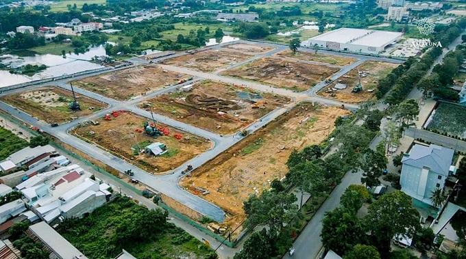 TNR Amaluna bước vào những giai đoạn hoàn thiện hạ tầng giao thông nội khu cuối cùng và đã bắt đầu triển khai thi công các công viên cảnh quan điểm nhấn của dự án.