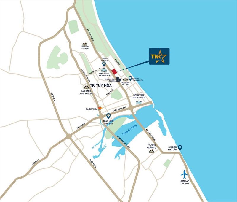 TNR Grand Palace Phú Yên với mặt tiền ngắm trọn vịnh biển đẹp nhất Việt Nam