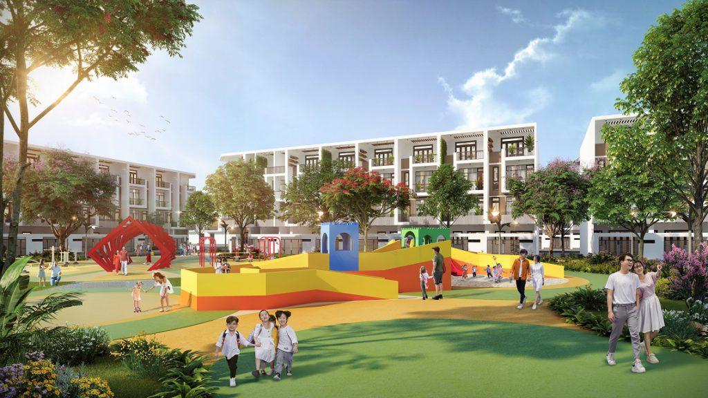Những tiếng cười trẻ thơ sẽ được vang mãi tại Công viên trẻ em Crystal Children Park