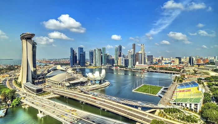 Thành phố Singapore phát triển đặc biệt với khu kinh tế Ven Biển giao thương lớn nhất châu Á.