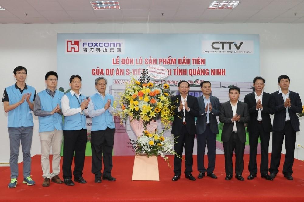Foxconn khởi động cho sản xuất công nghệ cao tại khu kinh tế tập trung ven biển Uông Bí – Quảng Yên.