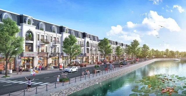 TNR Grand Palace Sơn La với hệ thống Shophouse Riverview đẳng cấp bên Sông Nậm La