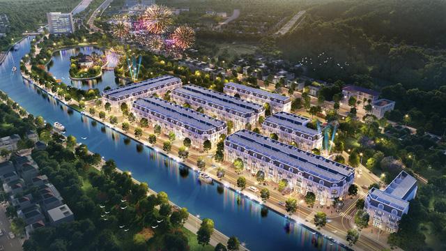 TNR Grand Palace Sơn La nằm trong tổng thể khu hành chính mới trung tâm Thành phố Sơn La