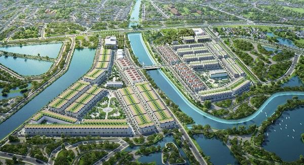 """TNR Grand Palace River Park vị thế với tiêu chuẩn """"Sông xanh thịnh vượng – Đất vàng phồn vinh""""."""