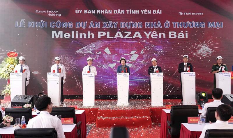 Mê Linh Palaza Yên Bái - Một trong những chuỗi phát triển đô thị và trung tâm thương mại thu hút đầu tư của Yên Bái