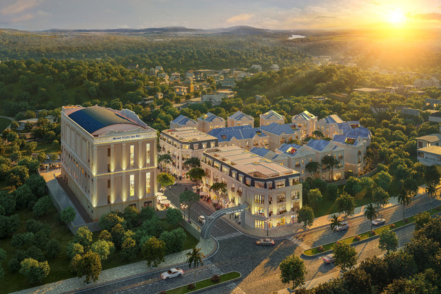 Melinh PLAZA Yên Bái sở hữu vị trí đắt giá tại trung tâm TP Yên Bái