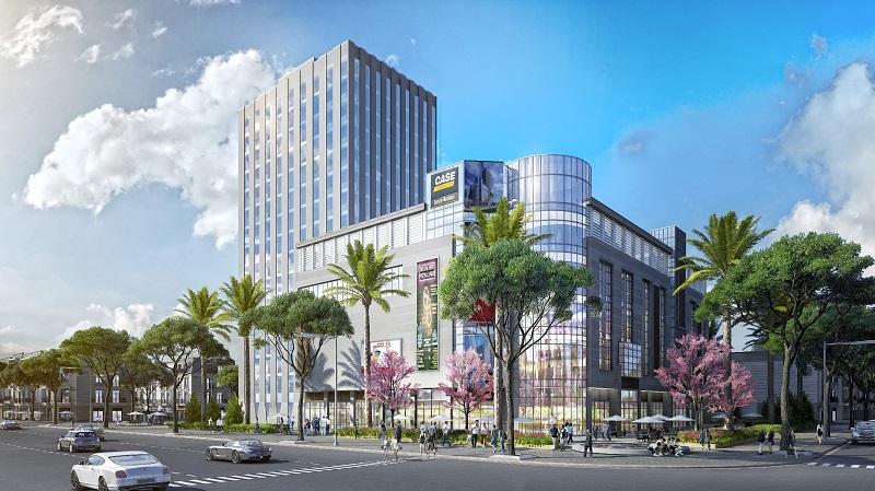 Định hướng các tập đoàn lớn xây dựng các khu đô thị với đa dạng các loại hình như trung tâm thương mại, khu vui chơi giải trí phục vụ cho hạ tầng an sinh - xã hội của thành phố Thái Hòa tương lai.