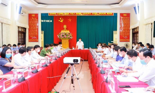 Kỳ họp thường vụ tỉnh Nghệ An với định hướng xây dựng – phát triển đưa Thái Hòa là thành phố công nghiệp – dịch vụ - du lịch là khu đô thị loại III thành phố trực thuộc tỉnh giai đoạn 2021-2025
