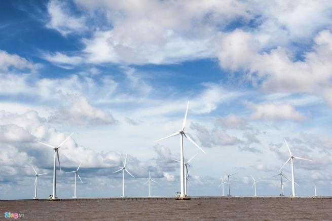 Điện gió Đông Hải, Bạc Liêu - ngành công nghiệp năng lượng xanh tiên tiến nhất thể giới khẳng định vị thế kinh đô năng lượng tái tạo của Châu Á – Thái Bình Dương
