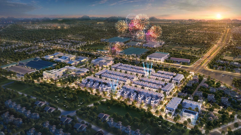 Khu thô thị TNR Stars Đông Mai - khu đô thị phụ trợ cho khu kinh tế ven biển Quảng Yên - Uông Bí.