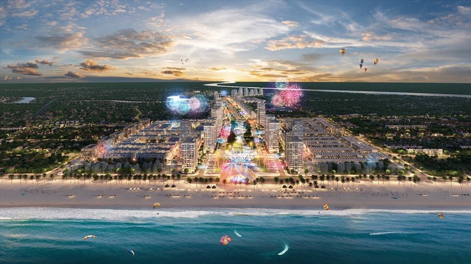 Những dự án mới như trục đại lộ và quảng trường biển sẽ tạo điều kiện phát triển kinh tế đêm Sầm Sơn